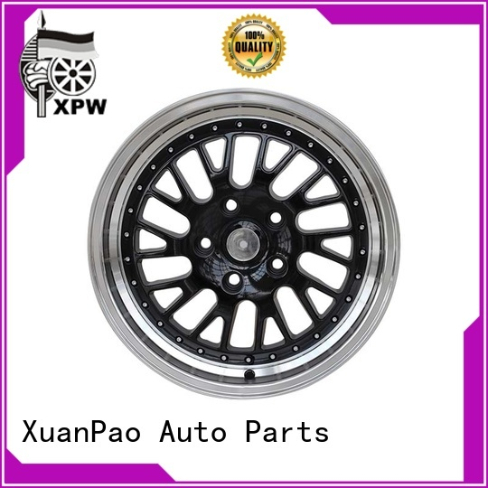 XPW high quality black car rims manufacturing for cars