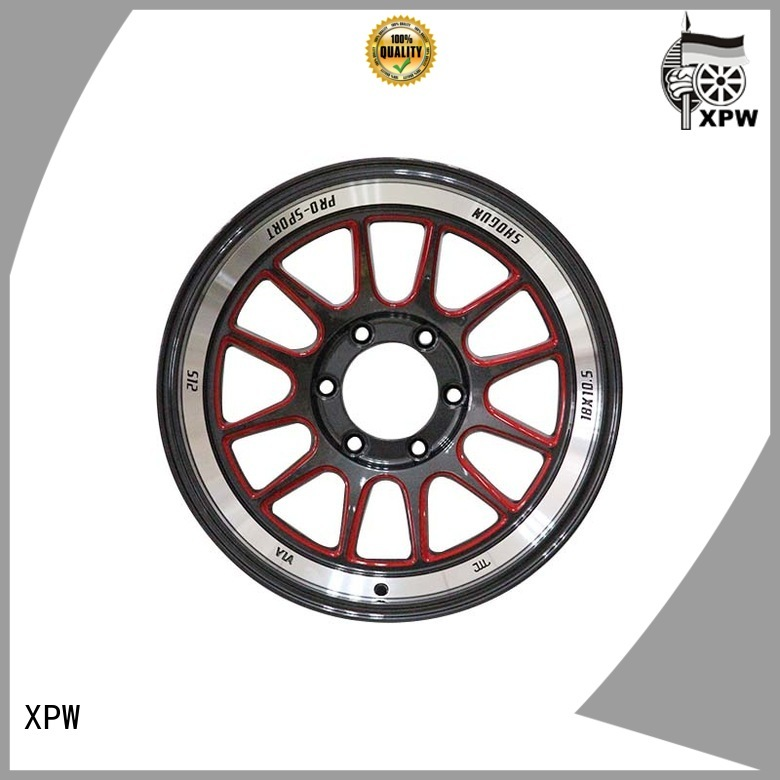 reliable 18 4x100 wheels wide sides supplier for Toyota