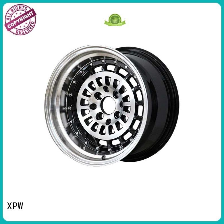 XPW white 15 inch chrome wheels manufacturing for Honda series