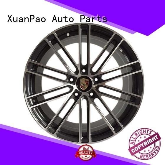 Hot rims porsche cayenne wheels black XPW Brand