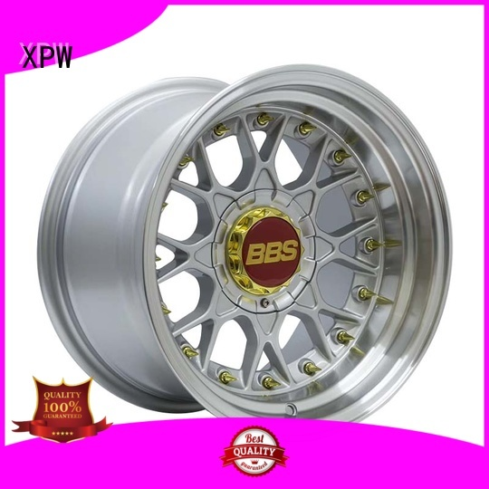 XPW aluminum 15 inch rims and tires manufacturing for vehicle