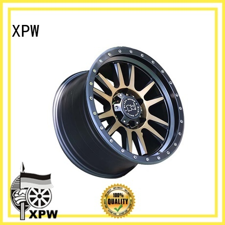 XPW black with bronze face mb suv rims manufacturing for SUV cars