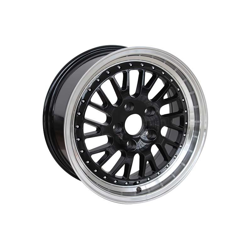 black 16 inch steel rims alloy for vehicle XPW-1