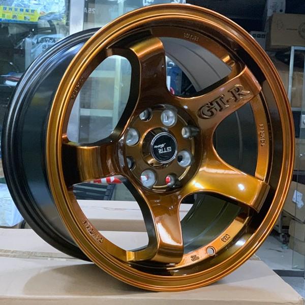 fashion 15 inch drag wheels black design for cars-1