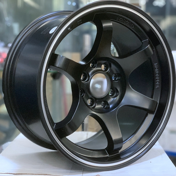 XPW black 15 inch aluminum wheels manufacturing for cars-3