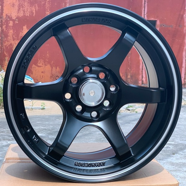 XPW black 15 inch aluminum wheels manufacturing for cars-5