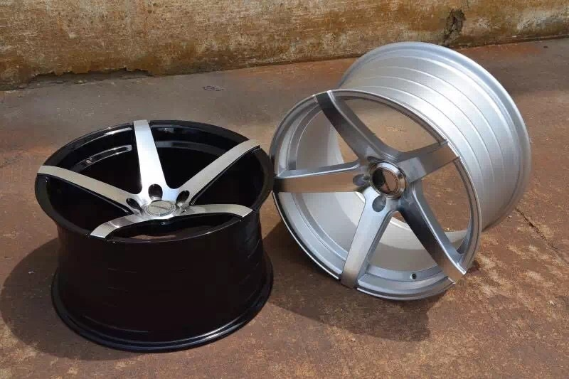 XPW silver matte black 18 inch rims OEM for vehicle