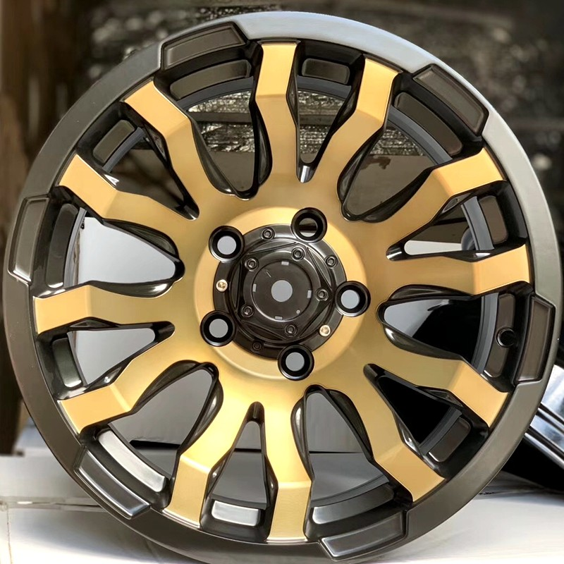 XPW black with bronze face suv rims and tires wholesale for vehicle-2