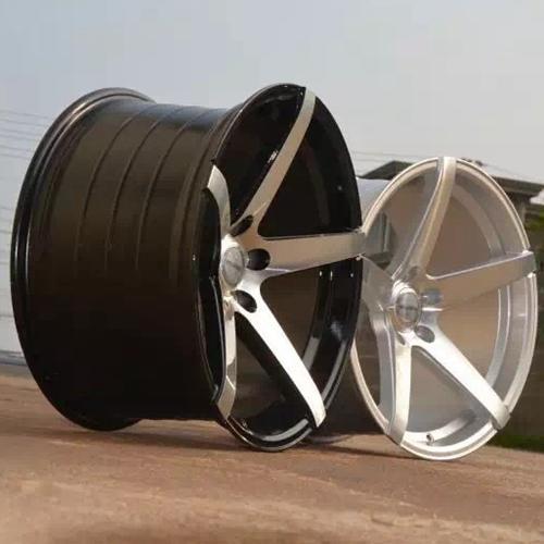 hot selling 18 inch rims and tires matt black OEM for Honda series-3