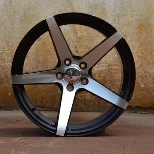 hot selling 18 inch rims and tires matt black OEM for Honda series-1