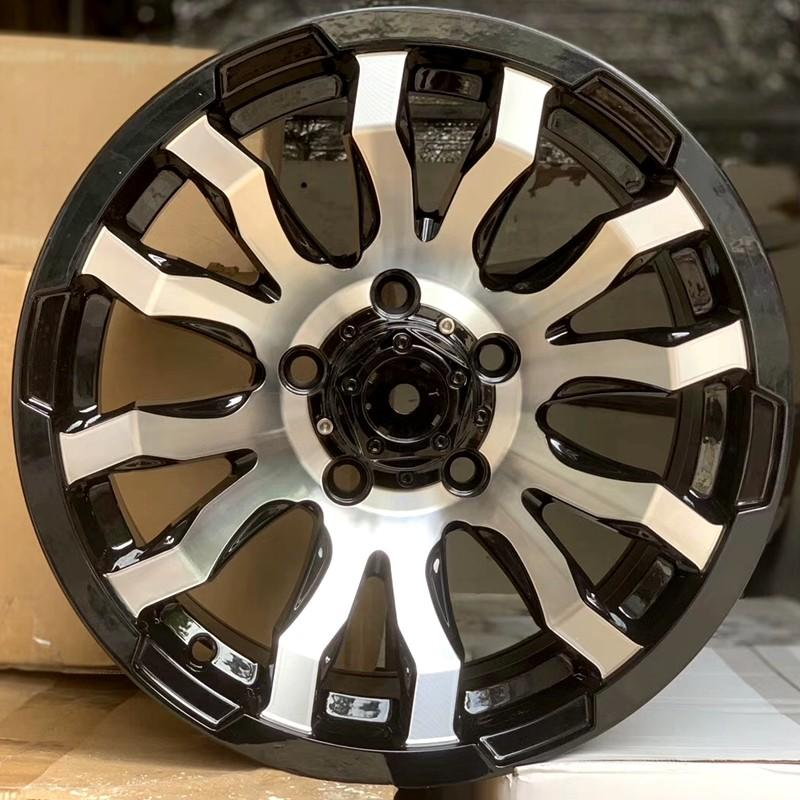 custom discount custom wheels black with bronze face manufacturing for cars-1