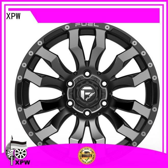 XPW auto chrome rims for suv design for vehicle