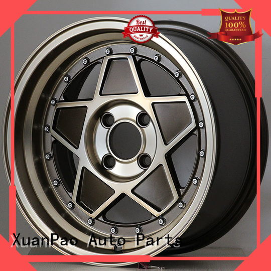 XPW white 15 inch aluminum wheels design for cars