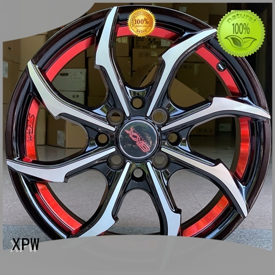 high quality 15x8 4x100 steel wheels white customized for cars