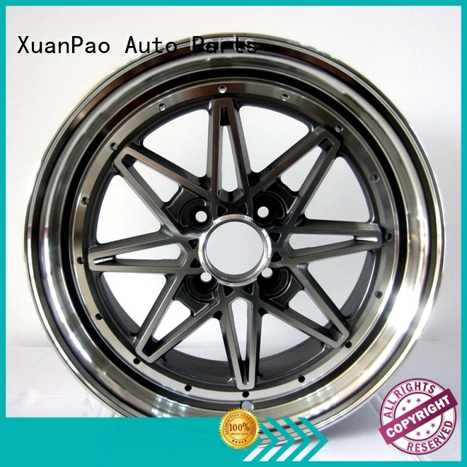 XPW black 15 black rims wholesale for Toyota