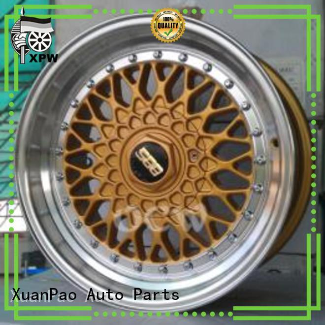 factory supply 17 inch 5 spoke rims matte black manufacturing for cars