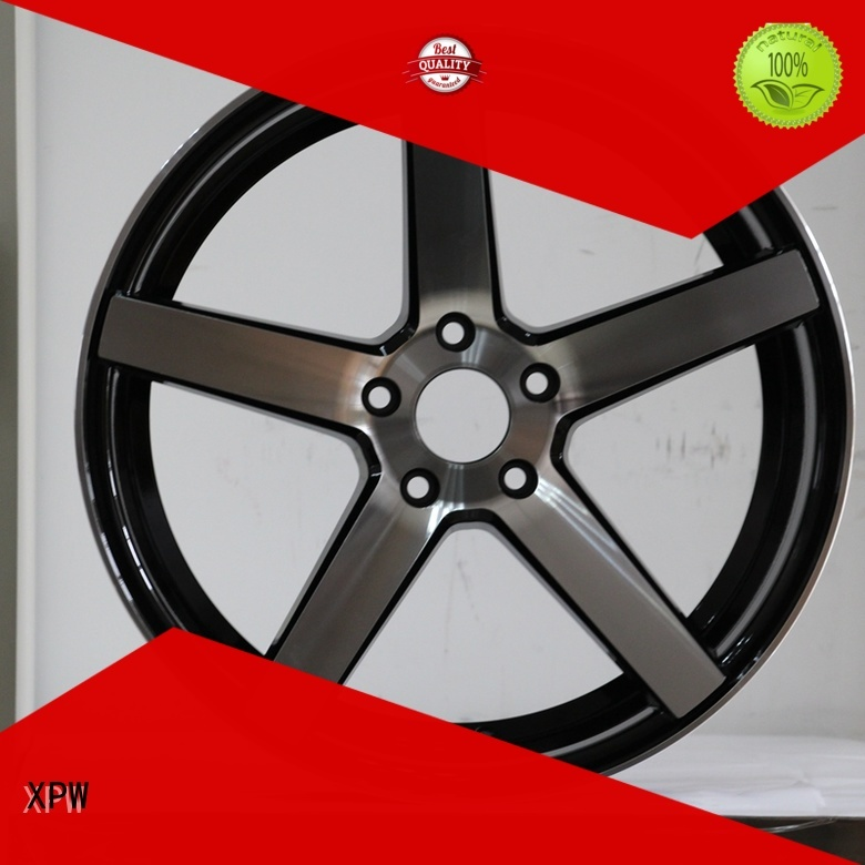 good price 16 inch black rims low-pressure casting design for vehicle