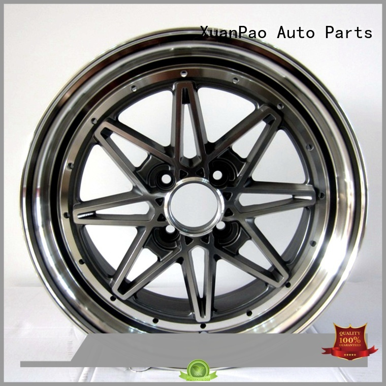 XPW high quality 15 inch black wheels wholesale for Honda series