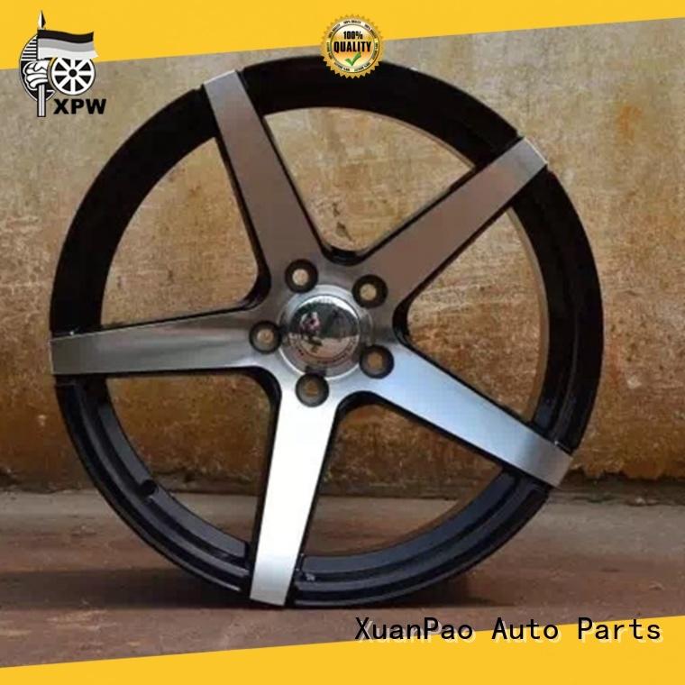XPW alloy 18 matte black rims manufacturing for Honda series