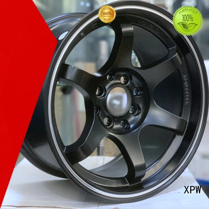 XPW cost-efficient 15x8 4x100 steel wheels design for cars