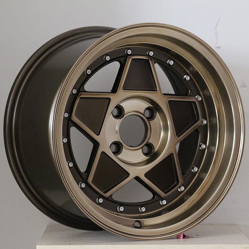 15inch bronze star  wheels