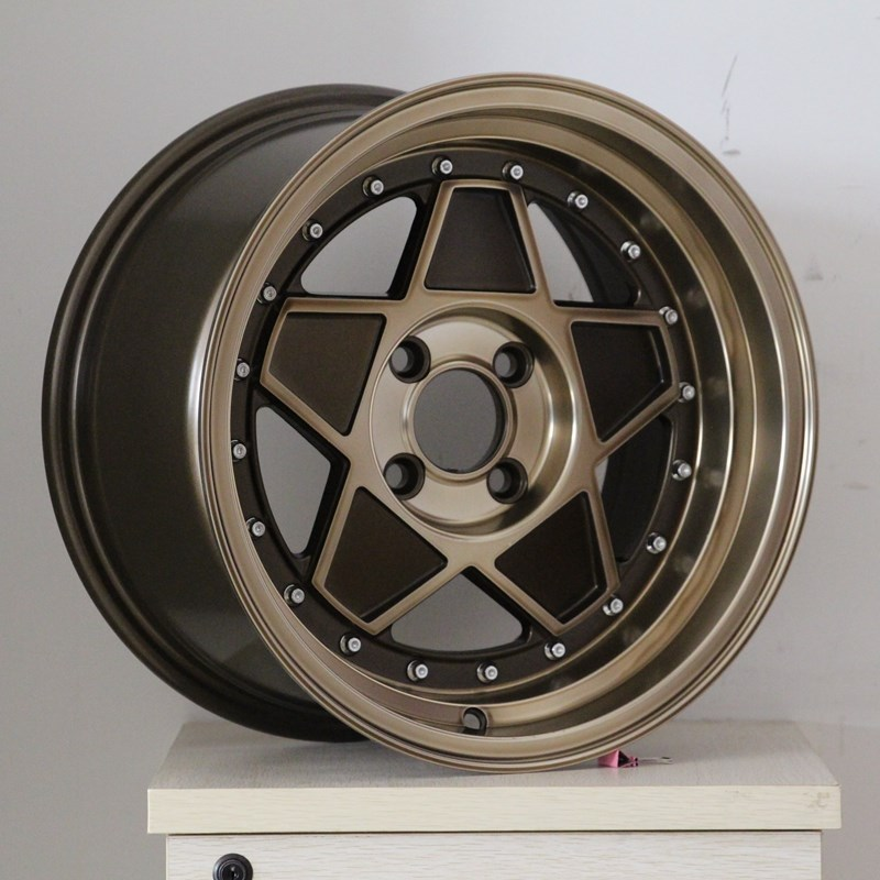 XPW white sport rims 15 inch design for cars-2