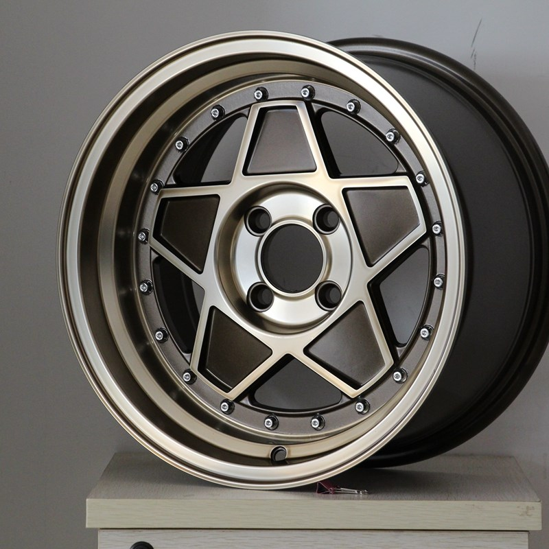 XPW white sport rims 15 inch design for cars-3