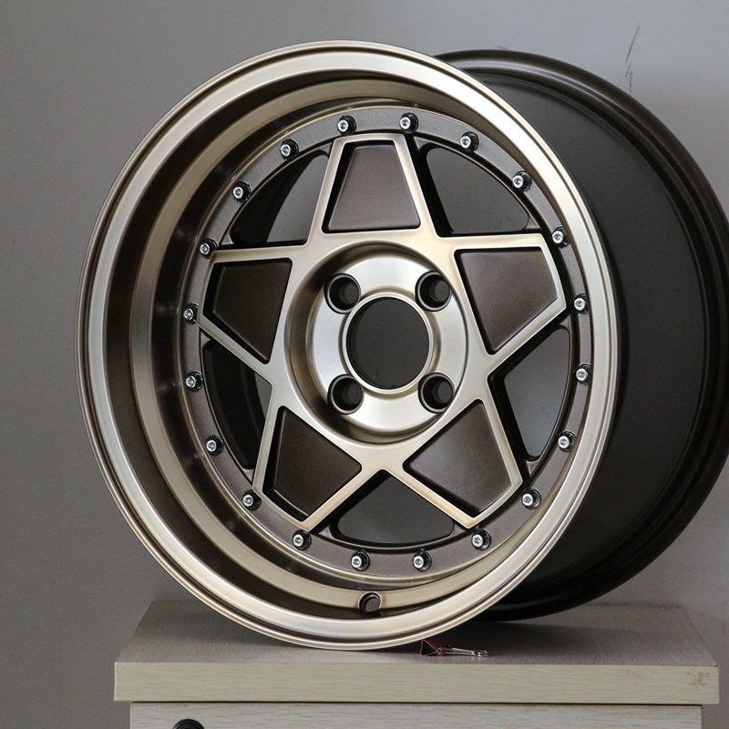 XPW black 15 inch off road wheels manufacturing for Honda series
