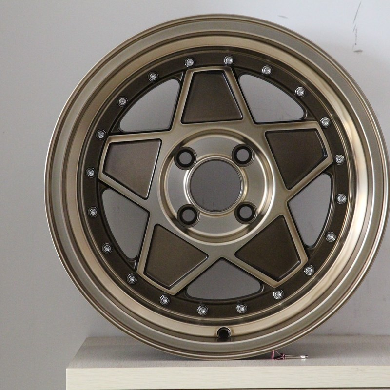 XPW black 15 inch off road wheels manufacturing for Honda series-4