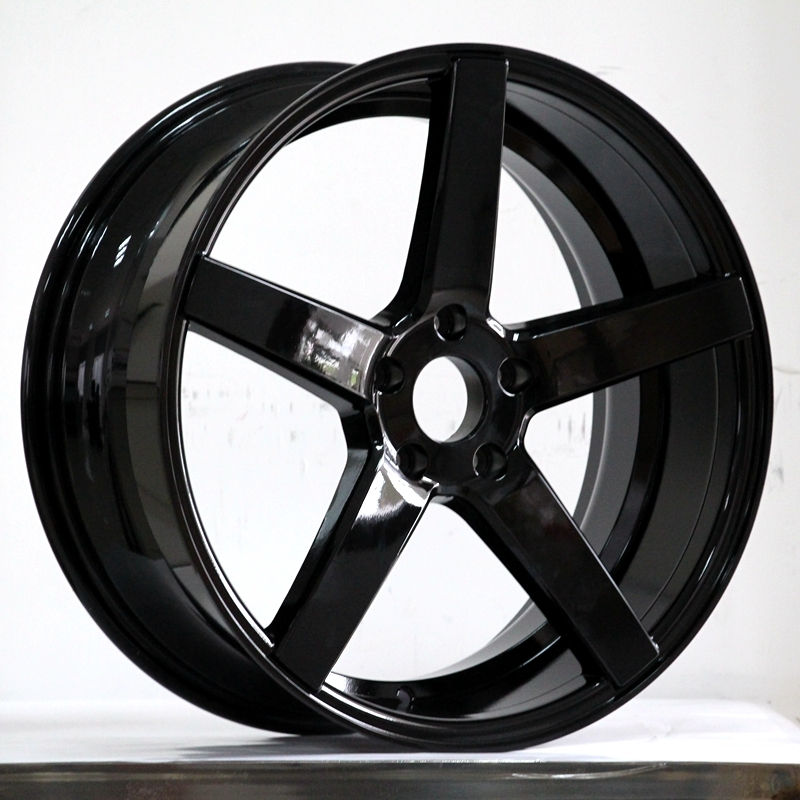 CV3 Black color alloy wheels