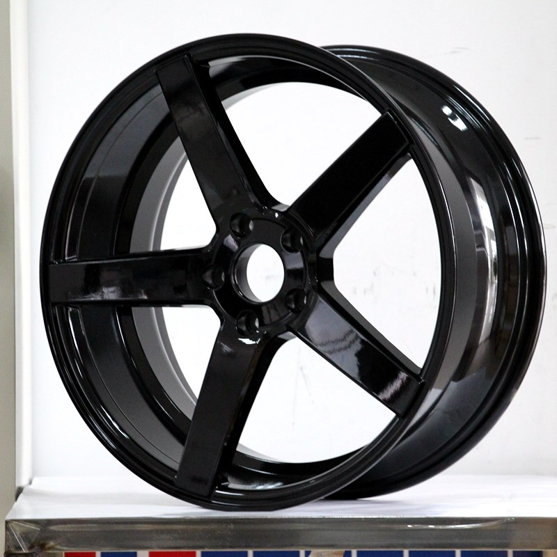 cost-efficient 17 inch black alloys aluminum manufacturing for Toyota-3