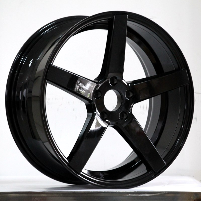 cost-efficient 17 inch black alloys aluminum manufacturing for Toyota-5