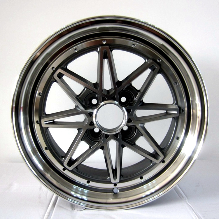 8008 alloy wheels 4holes used for toyota hoda car