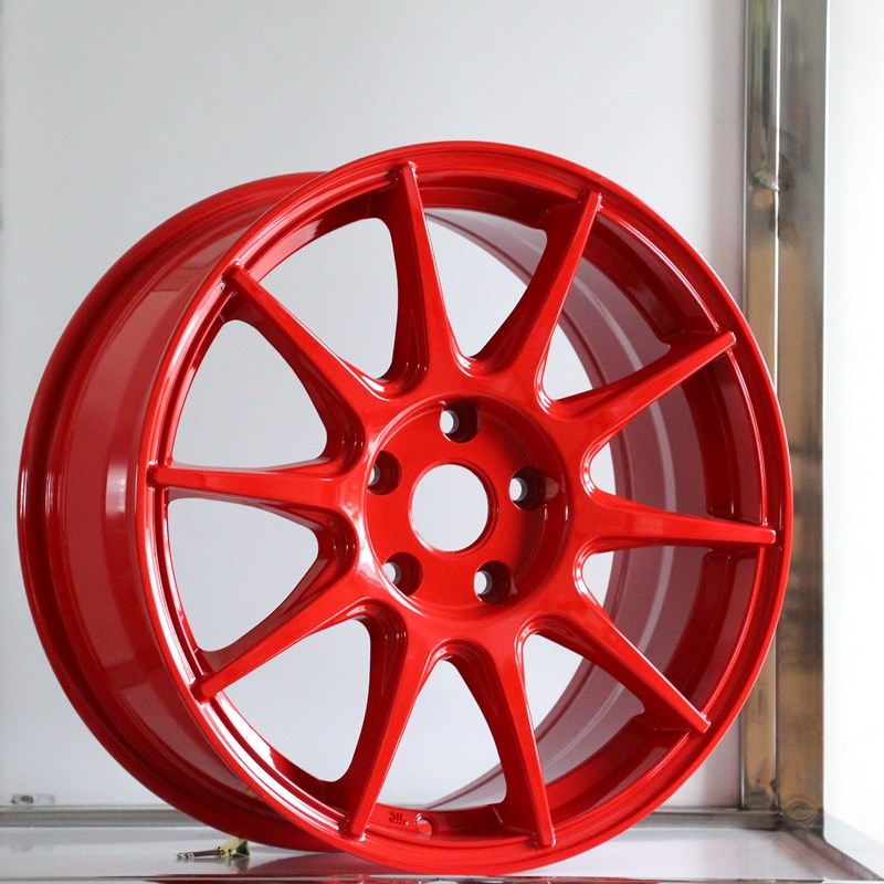 fashion custom black rims alloy series for Toyota-4