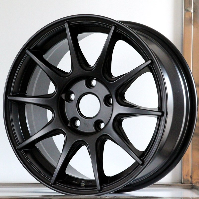 fashion custom black rims alloy series for Toyota-5