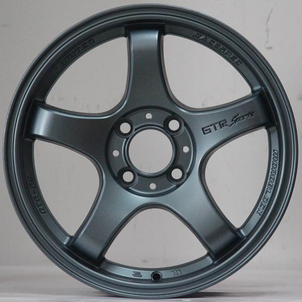 15inch GTR grey color alloy wheels