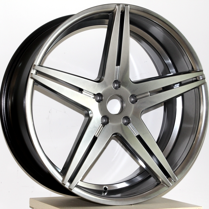 20INCH V5  black and sliver color replica wheels