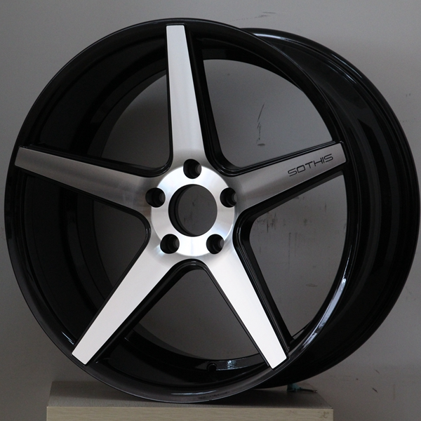 XPW 20 inch 5 spoke rims manufacturing for turcks-1