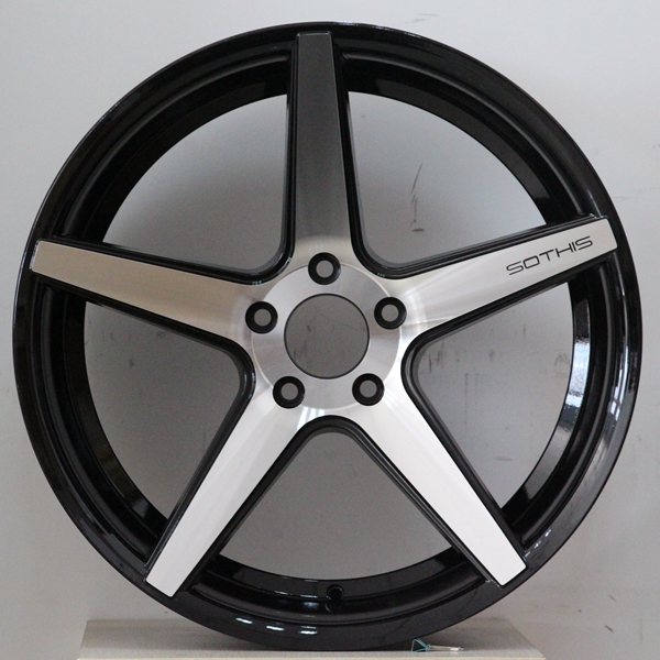 XPW 20 inch 5 spoke rims manufacturing for turcks-3