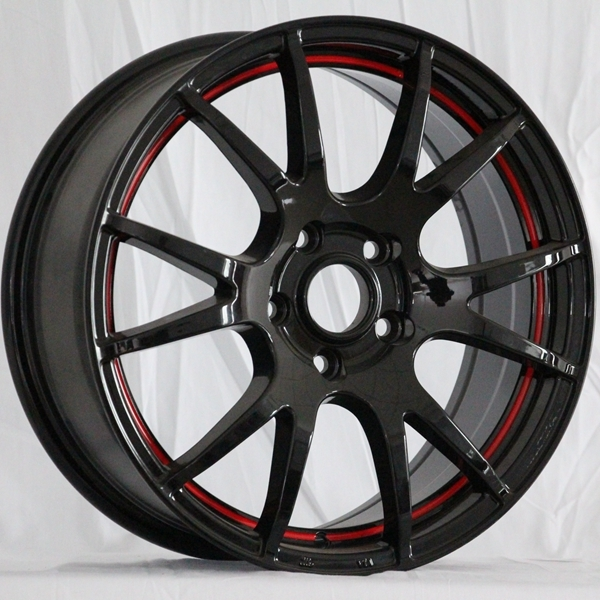 XPW black 15 inch racing wheels manufacturing for Honda series