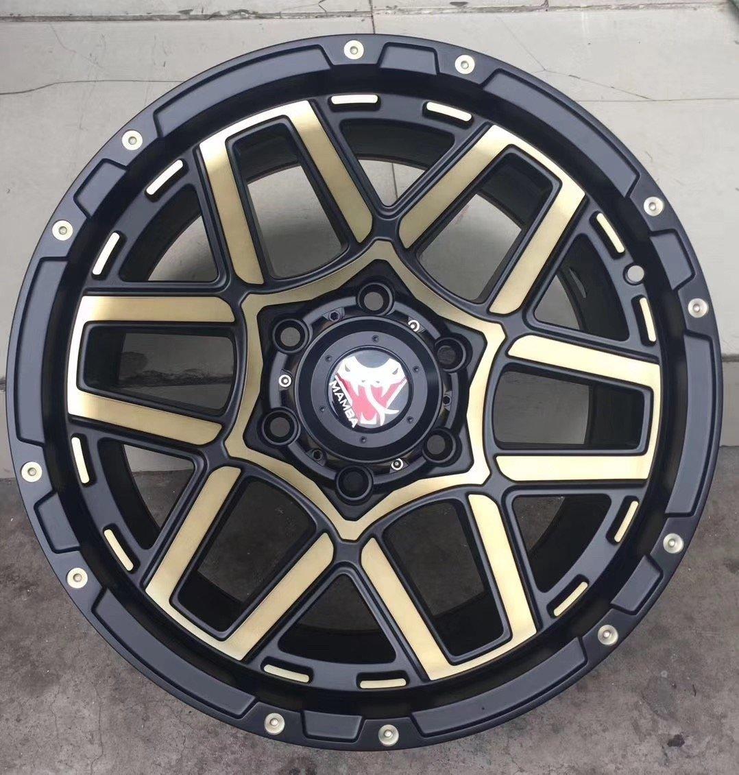 17INCH  6*139.7  6*114.3  SUV alloy wheels used for PRADO and NAVARA