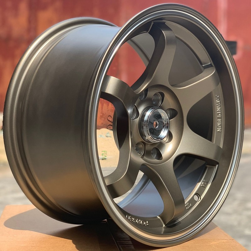 XPW black 15 inch aluminum wheels manufacturing for cars-4