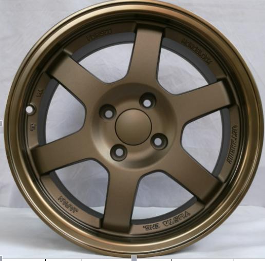 15inch  TE37 alloy rims