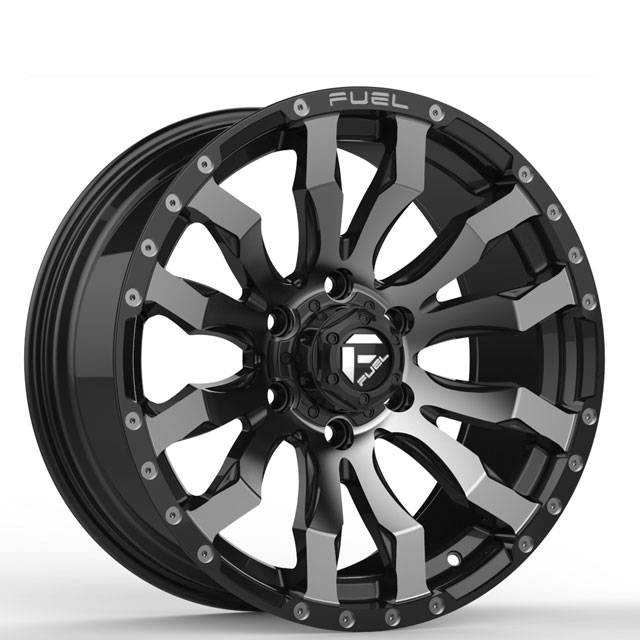 custom discount custom wheels black with bronze face manufacturing for cars-5