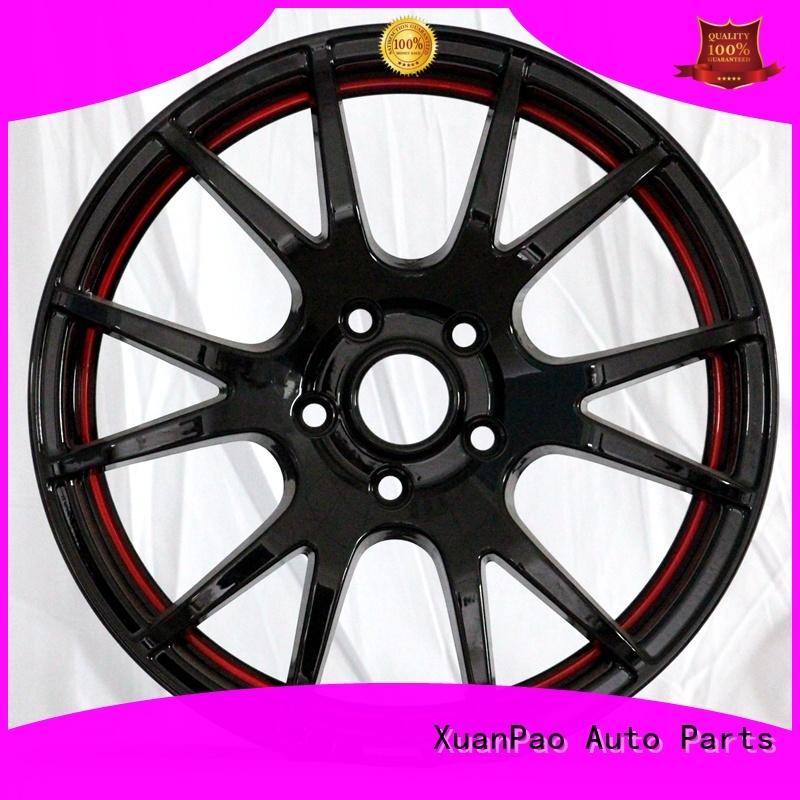 XPW black 15 inch steel wheels design for vehicle