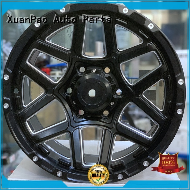 XPW professional black steel wheels 17 manufacturing for cars