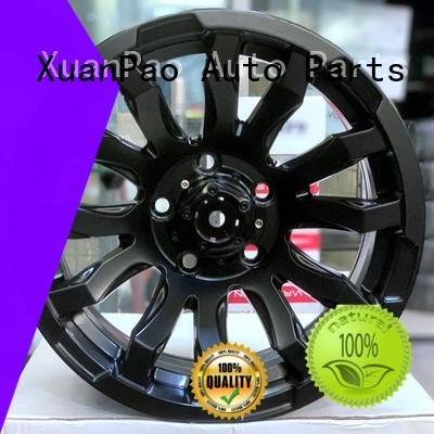 high quality 15x15 wheels power coating design for vehicle