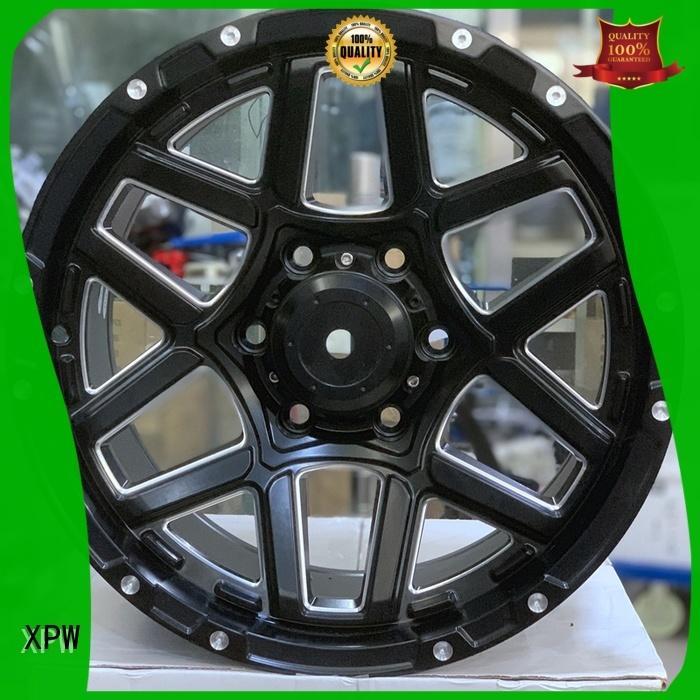 high quality cheap black rims matte black OEM for Toyota