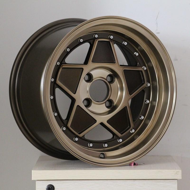 XPW black 15 inch off road wheels manufacturing for Honda series-2