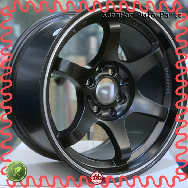 XPW high quality 15x8 steel wheels manufacturing for Toyota